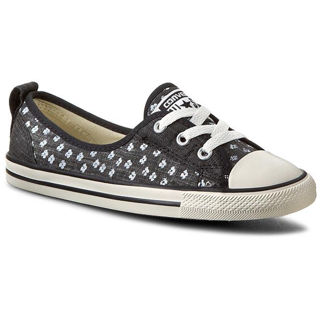 Sneakers CONVERSE - Ct Ballet Lace 547169C  Black/White