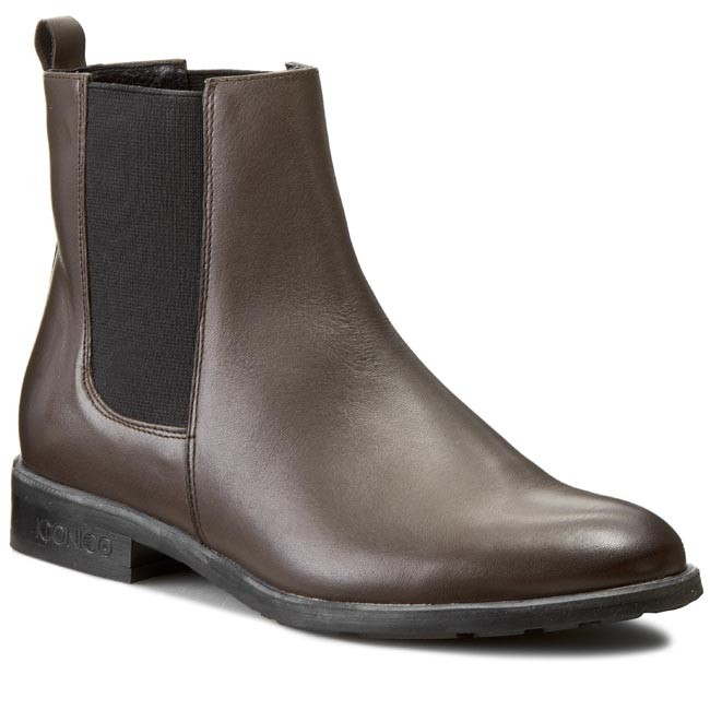 Ankle Boots BUT-S - W107-G27-0P0 C.Brąz