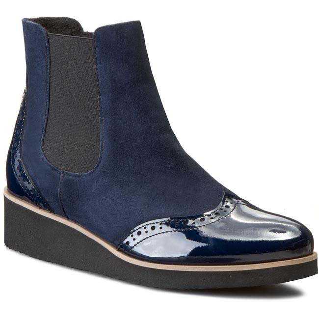 Boots SAGAN - 2603/1 Granat Wel./Granat Lak. Oc