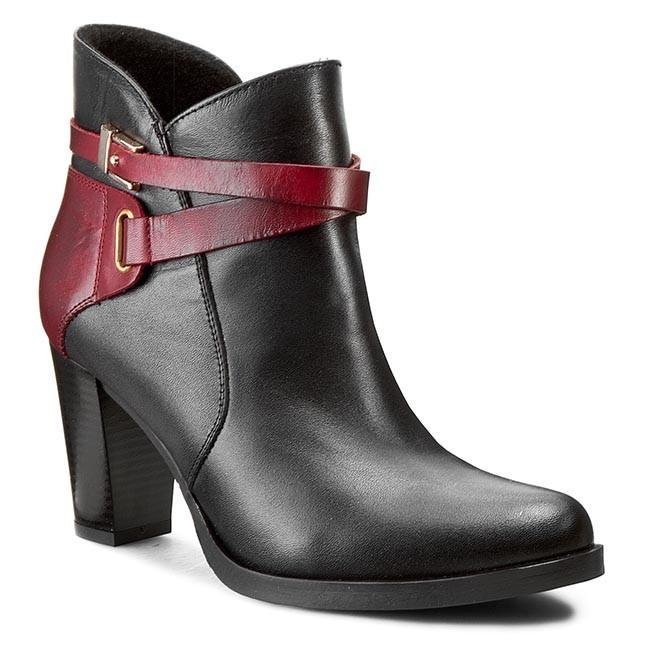 Boots BALDACCINI - 655000-1 Czarny S/Negril Porpora