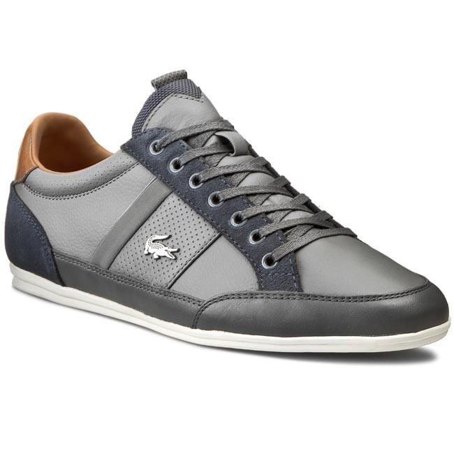 Sneakers LACOSTE - Chaymon Prm2 Us Spm 7-30SPM40202G2 Lt Gry/Dk Gry