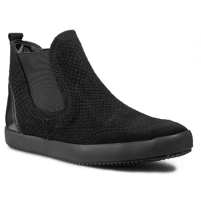 Ankle Boots TAMARIS - 1-25849-35 Black/Blk Pat 086