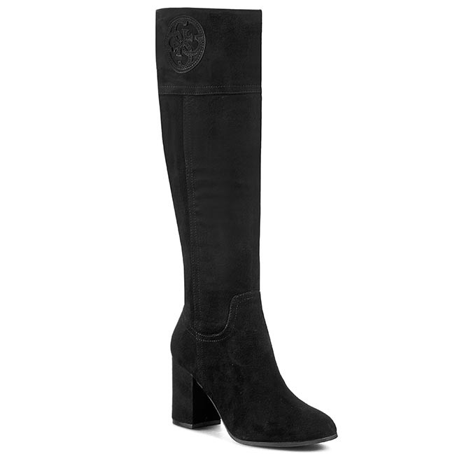 Knee High Boots GUESS - Mabbel FL4MBB SUE11 BLACK