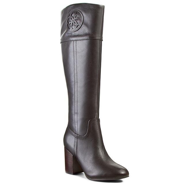 Knee High Boots GUESS - Mabbel FL4MBB LEA11  DBROW