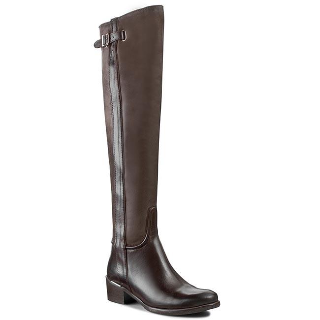 Over-Knee Boots CARINII - RR5230 Marrone/J.Brąz Oc
