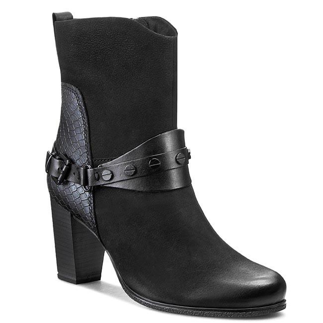 Boots MARCO TOZZI - 2-25029-25 Black Ant. Combi 096