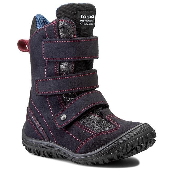 Snow Boots MRUGAŁA - 7265-74 Granat/Amarant