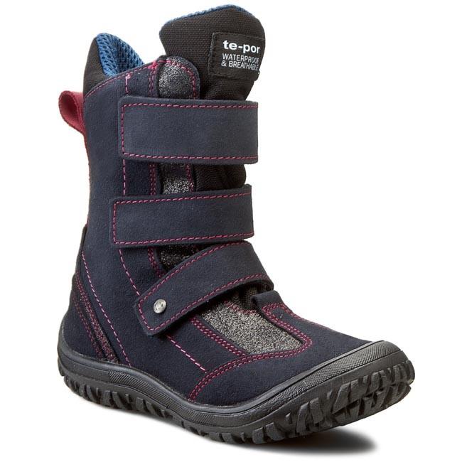 Snow Boots MRUGAŁA - 7365-74 Granat/Amarant