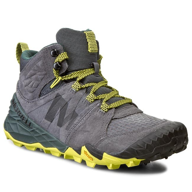 Trekker Boots MERRELL - All Out Terra Turf Mid J23649 Castle Rock