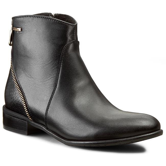 Boots BALDACCINI - 657000-5  Czarny S/Wąż Czarny