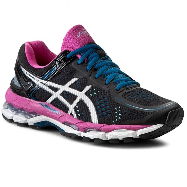 Shoes ASICS - Gel-Kayano 22 T597N Black/Silver/Pink Glow 9093