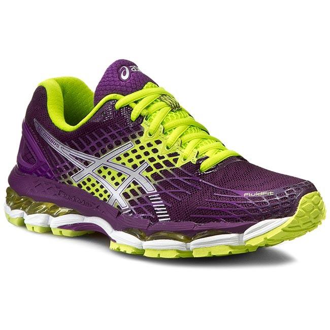 Shoes ASICS - Gel-Nimbus 17 T557N Plum/Silver/Flash Yellow