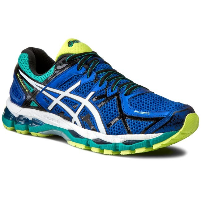 Shoes ASICS - Gel-Kayano 21 T4H2N Blue/White/Flash Yellow 4701