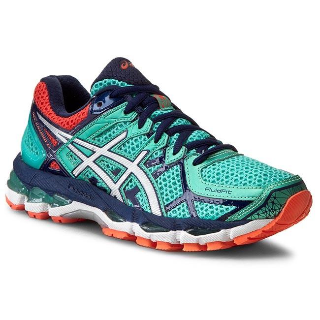 Shoes ASICS - Gel-Kayano 21 T4H7N Aqua Mint/Silver/Indigo Blue