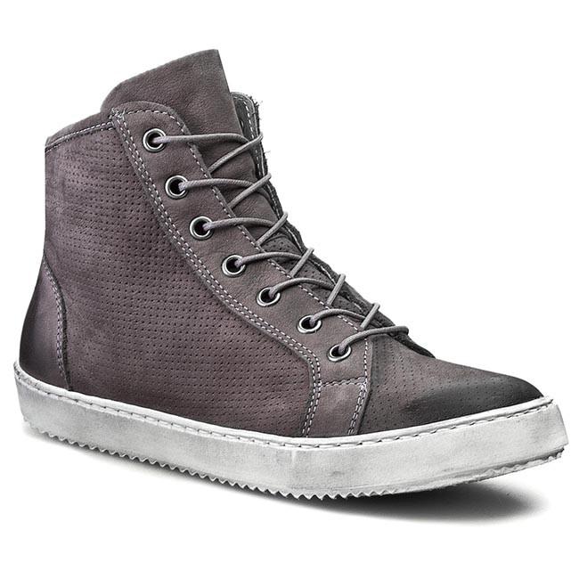 Sneakers CARINII - B3132/M Szary Wrzos