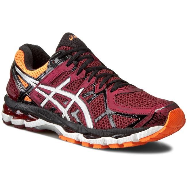 Shoes ASICS - Gel-Kayano 21 T4H2N Deep Ruby/Silver/Hot Orange