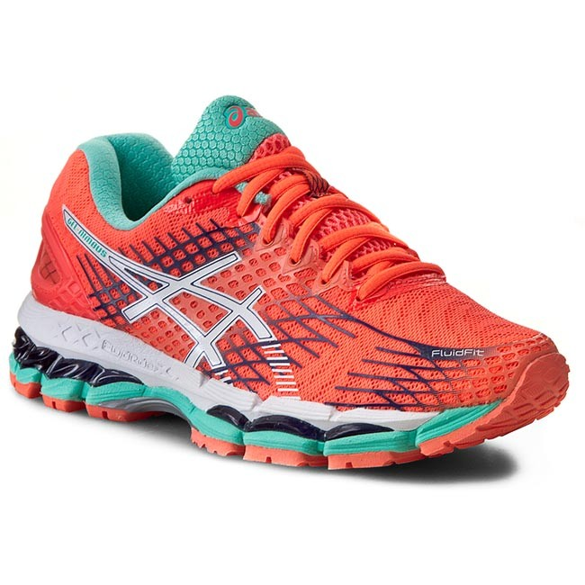 Shoes ASICS - Gel-Nimbus 17 T557N Flash Coral/White/Indigo Blue