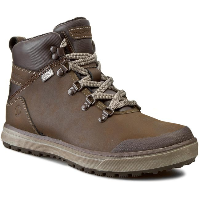 Trekker Boots MERRELL - Turku Trek Wtpf J23627 Black Slate