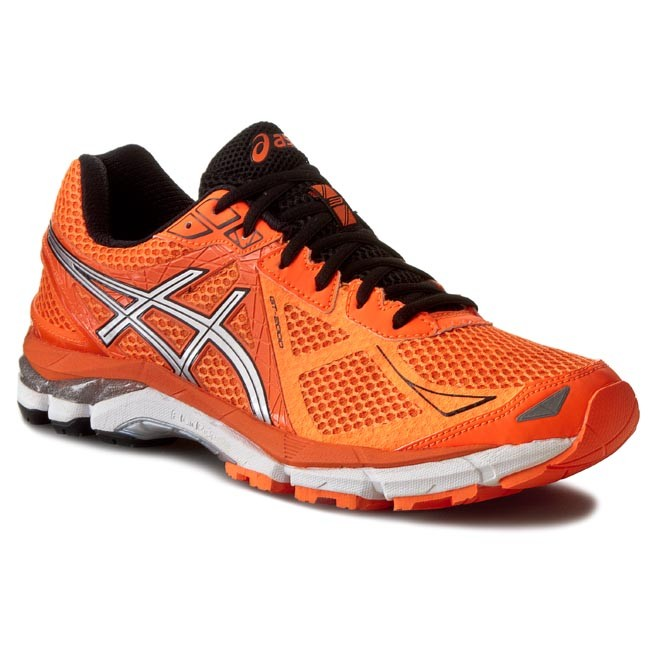 Shoes ASICS - GT-2000 3 T500N Hot Orange/Silver/Black