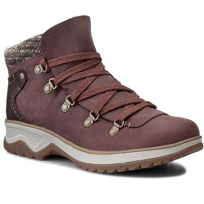 Trekker Boots MERRELL - Eventyr Bluff Waterproof J42398  Wine