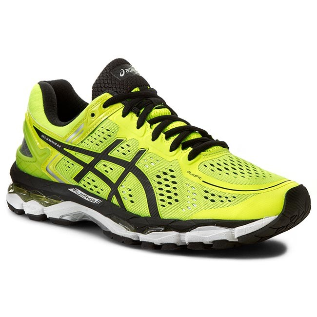 Shoes ASICS - Gel-Kayano 22 T547N Flash Yellow/Black/Silver 0790