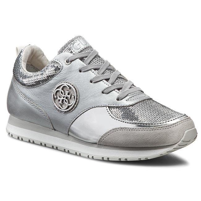 Sneakers GUESS - Reeta FLREE1 SAT12 SILVE