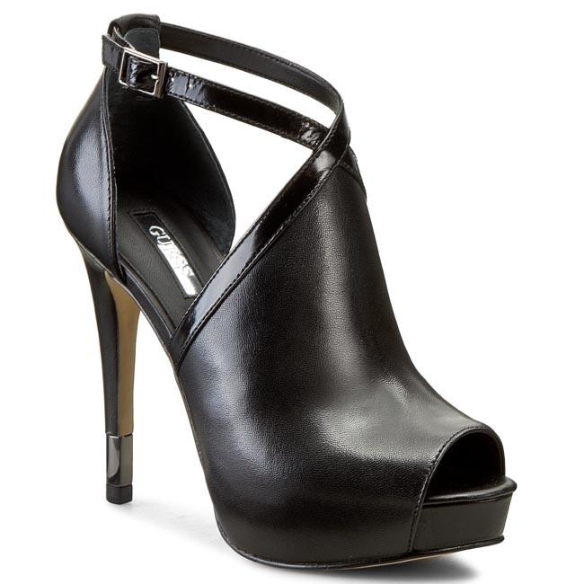 Stilettos GUESS - Haffie FLHAF1 LEA09 BLACK