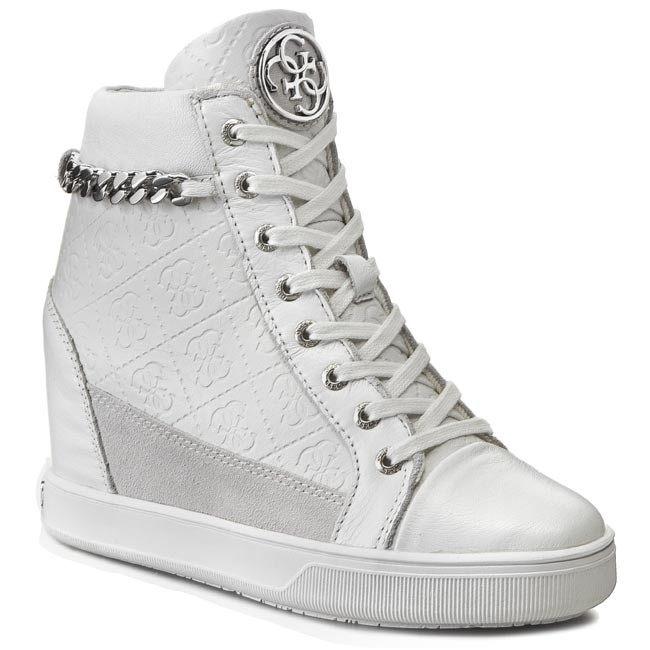 Sneakers GUESS - Furr2 FLFUR1 LEA12  WHITE