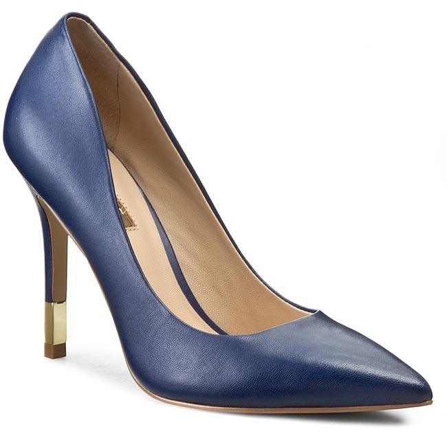 Stilettos GUESS - Bayan5 FLBAY1 LEA08 DBLUE