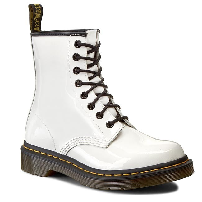 Combat Boots DR. MARTENS - 1460 W 11821104 White