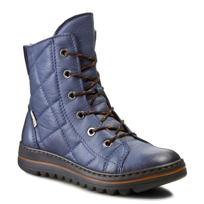 Boots NAGABA - 328 Granat Rustic