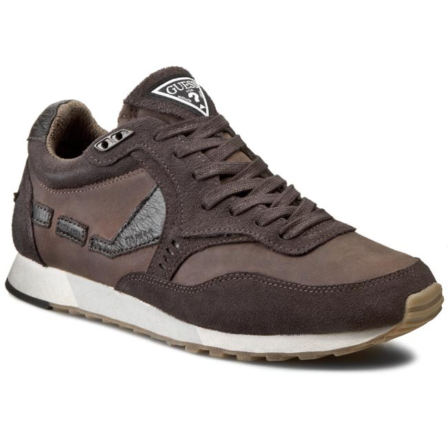 Sneakers GUESS - T1 FM40T1 LEA12  BROWN