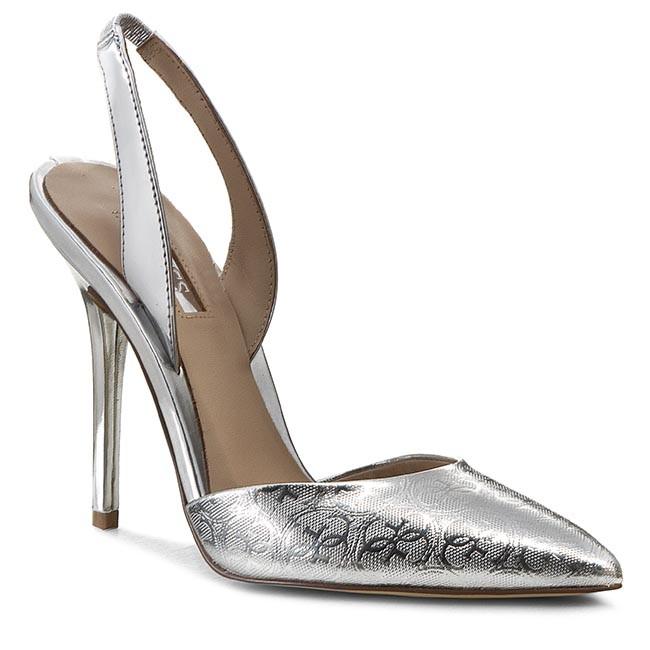 Sandals GUESS - Pascal4 FLPA41 FAL05 SILVE