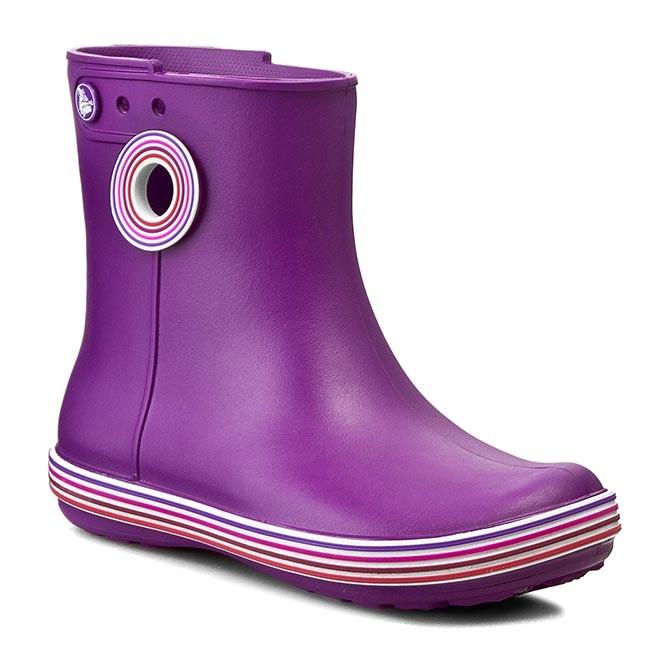 Wellingtons CROCS - Jaunt Stripes Shorty Boot W 202317 Amethyst/Royal Purple