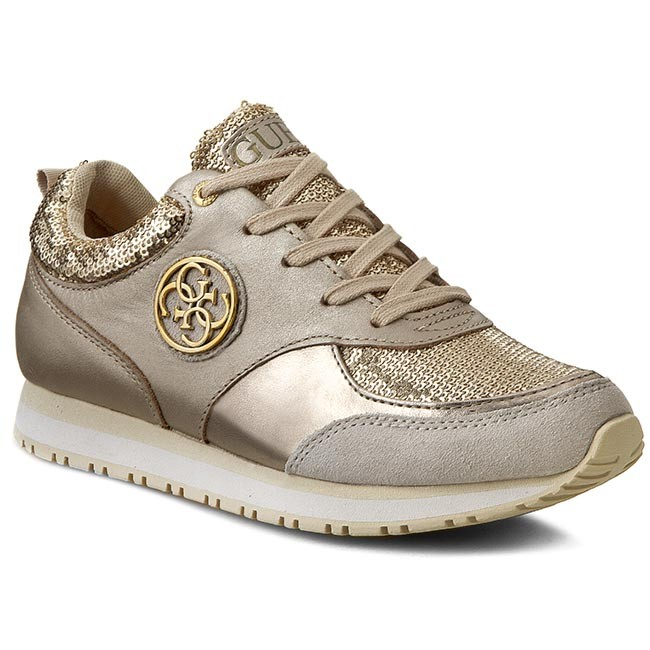 Sneakers GUESS - Reeta FLREE1 SAT12 LGOLD