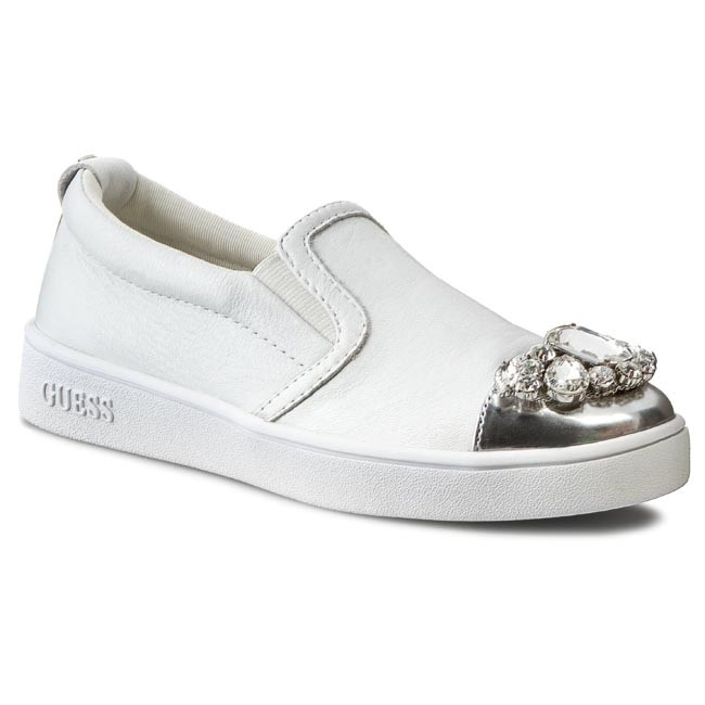 Shoes GUESS - Glorienne2 FLGLO1 LEA12 WHITE