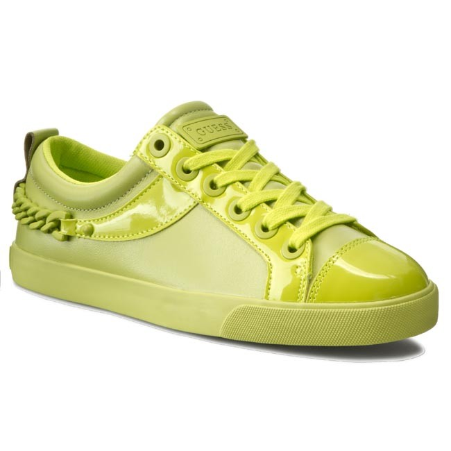 Shoes GUESS - Meenas4 FLME21 LEA12 LIME