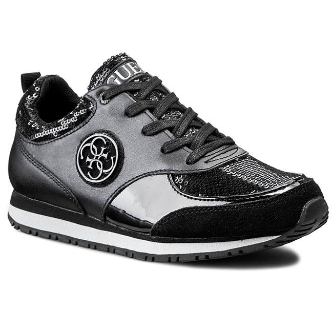 Sneakers GUESS - Reeta FLREE1 SAT12  BLACK