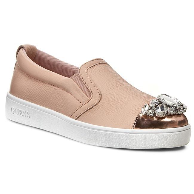 Shoes GUESS - Glorienne2 FLGLO1 LEA12  NUDE