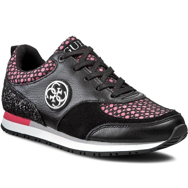 Sneakers GUESS - Reeta FLREE1 FAB12 BLKPI