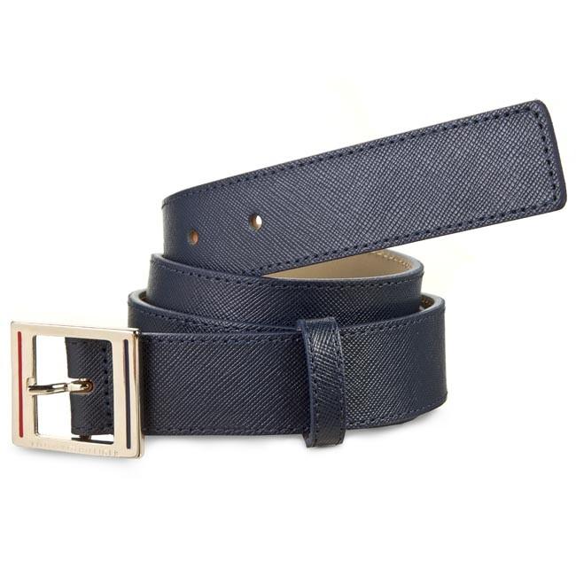 Women's Belt TOMMY HILFIGER - Fall Honey Belt 3.0 AW0AW01002 Midnight 001
