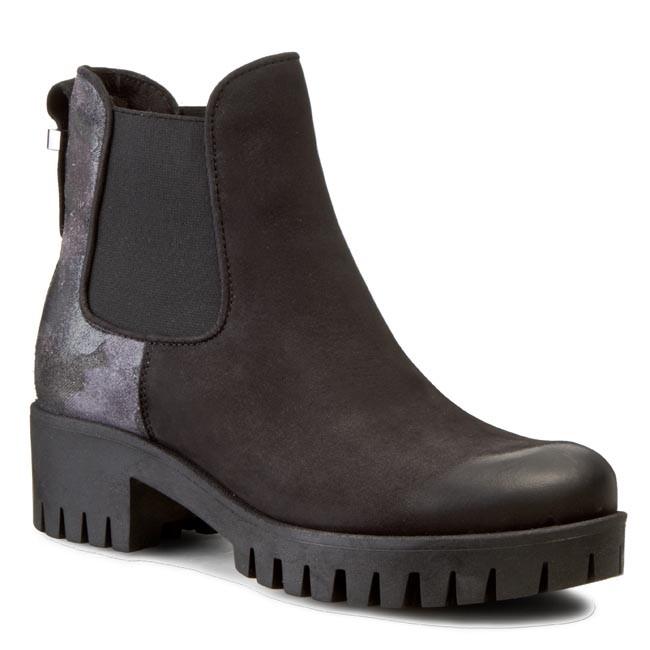 Boots CARINII - B3479 Samuel 04/Welur Folia Szary Moro/Oc. Filc