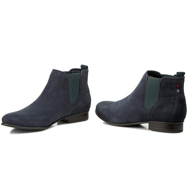 Ankle Boots TAMARIS 1 25353 25 Navy Suede 807