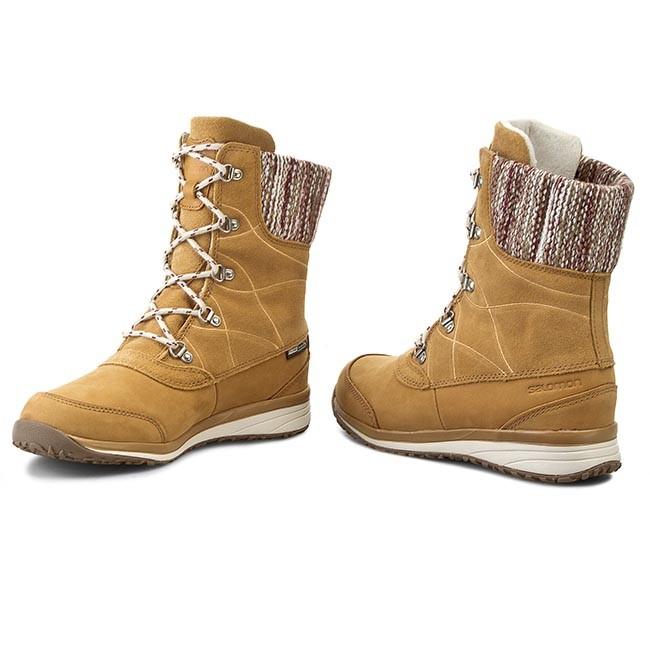 Trekker Boots SALOMON Hime Mid Ltr Cswp 378392 21 G0 Beige LtrBeige LtrBordeaux fiJEb