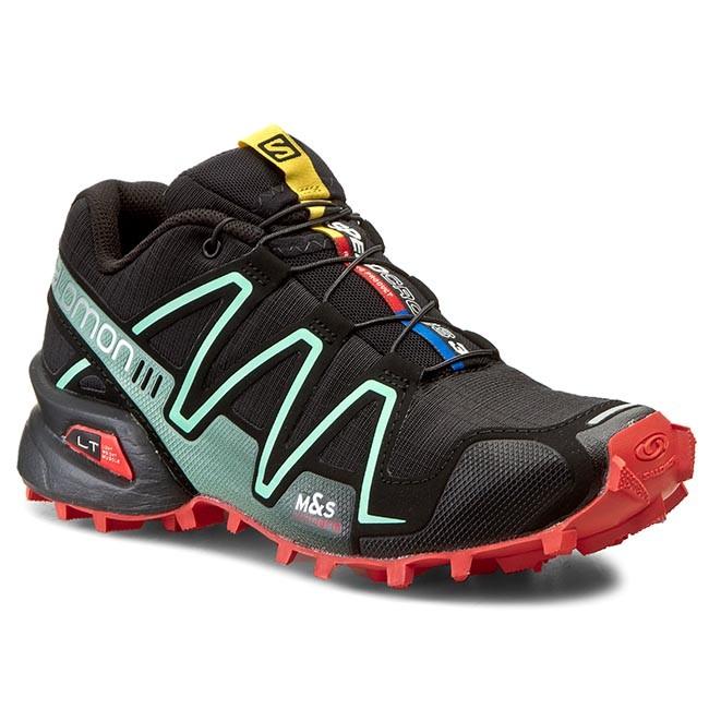 perturbación Propuesta alternativa A gran escala  Trekker Boots SALOMON - Speedcross 3 W 378328 20 G0 Black/Nectarine/Lichen  Green - Low - Outdoor - Women's - Sport | efootwear.eu