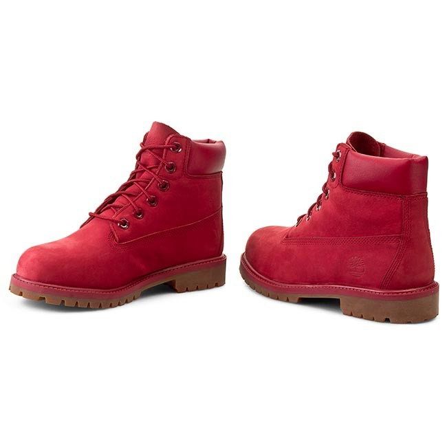 Hiking Boots TIMBERLAND 6 In Premium Wp Boot A13HVTB0A13HV6261 Red