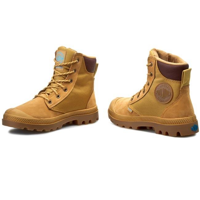 deaa88b1f89 Hiking Boots PALLADIUM - Pampa Sport Cuff Wpn 73234-228-M Amber Gold/Mid Gum
