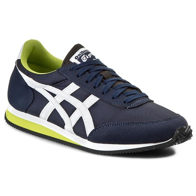 Asics White Leather Shoes