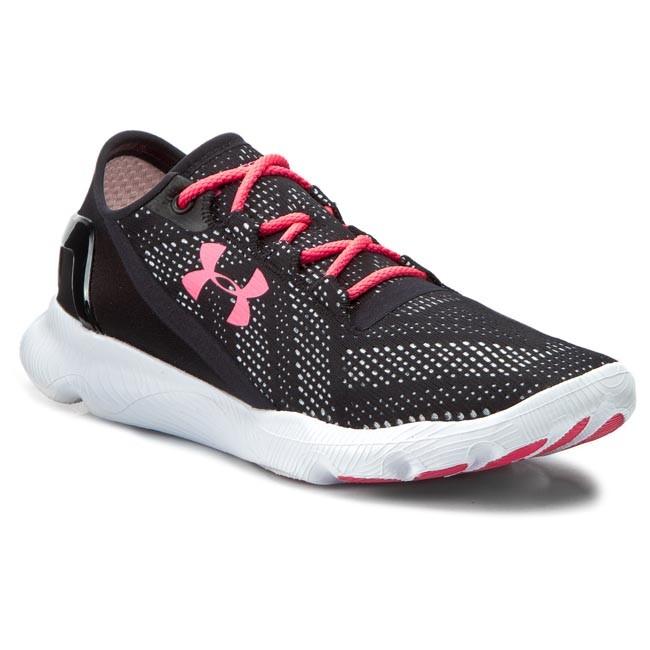 online retailer 15af1 090ee Shoes UNDER ARMOUR - W Speedform Apollo Vent 1252301-003 Blk/Wht/Psh