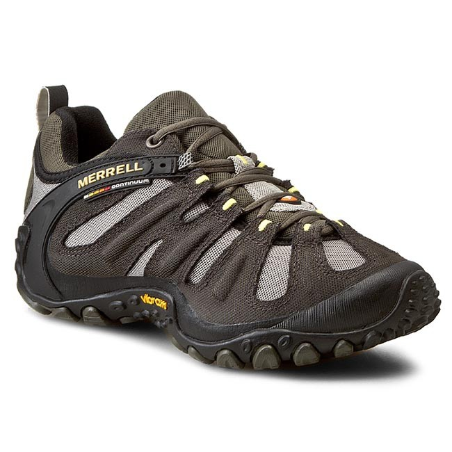 Buy Merrell Mens J86267 Chameleon Wrap Slam Shoes Brown in